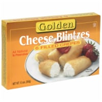 Golden Cheese Blintzes