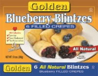 Golden Blueberry Blintz