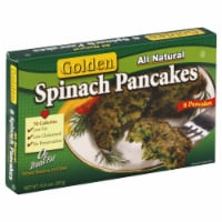 Golden Spinach Pancake