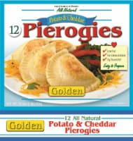 Golden Gourmet Potato & Cheese Pierogies