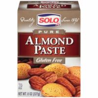 Solo Pure Almond Paste - Gluten Free