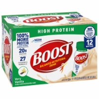 Boost High Protein Very Vanilla Nutritional Drink