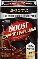 Nestle  BOOST® Optimum™ Nutritional Drink   Rich Chocolate
