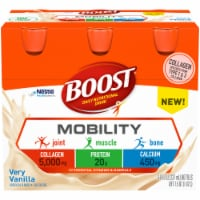 Boost Mobility Gluten Free Very Vanilla Daily Nutritional Drink 6 Count