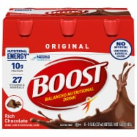 Boost Original Rich Chocolate Nutritional Drinks