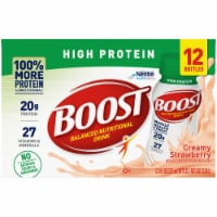 Boost High Protein Ready to Drink Creamy Strawberry Nutritional Drink