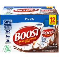 Boost Plus Rich Chocolate Balanced Nutritional Drink