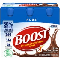 Boost Plus Rich Chocolate Nutritional Drink
