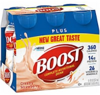 Nestle  BOOST® Plus Nutritional Creamy Strawberry Drink