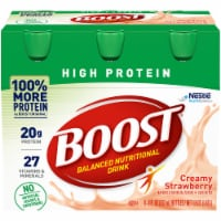 Nestle BOOST Creamy Strawberry High Protein Nutritional Drink