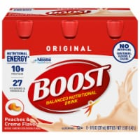 Boost Original Peaches & Creme Complete Nutritional Drinks