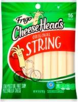 Frigo Cheese Heads Low Moisture Part Skim Original Mozzarella String Cheese