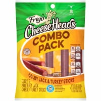 Frigo Cheese Heads Colby Jack & Turkey Sticks Combo Pack