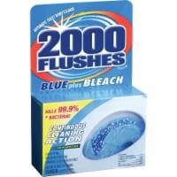 2000 Flushes Blue Plus Bleach Automatic Toilet Bowl Cleaner - 3.5 oz