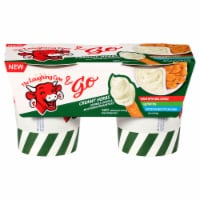 The Laughing Cow & Go Creamy Herbs Dippable Cheese & Multigrain Breadsticks