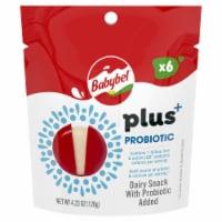 Mini Babybel Plus Probiotic Snacking Cheese