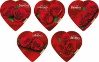 Elmer Chocolate Assorted Chocolates in Rose Heart Shaped Box