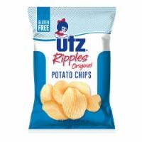 Utz Ripples Original Gluten Free Potato Chips - 2.88 oz