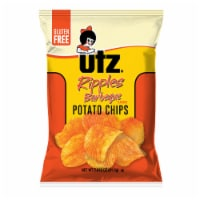Utz Ripples Barbeque Gluten Free Potato Chips - 2.88 oz