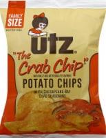 Utz Crab Potato Chips Family Size - 9 oz