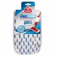 O-Cedar  Pro Mist  9 in. L Sponge  Microfiber  Mop Refill  1 pk - Case Of: 1; Each Pack Qty: - Count of: 1
