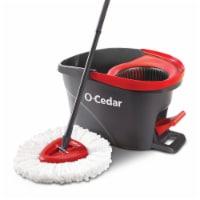 O-Cedar® Microfiber EasyWring Spin Mop & Bucket System Box - 1 ct