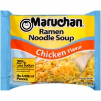 Maruchan Reduced Sodium Chicken Ramen Noodle Soup - 3 oz