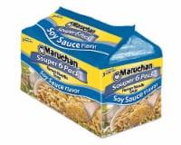 Maruchan Ramen Souper 6-Pack Oriental Flavor Noodle Soup - 6 ct / 3 oz