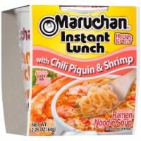 Maruchan Instant Lunch Chili Piquin & Shrimp Ramen Noodle Soup