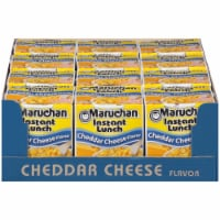 Maruchan Instant Lunch Cheddar Cheese Flavor Ramen Noodle Soup 12 Count