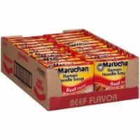 Maruchan Beef Flavor Ramen Noodle Soup Case