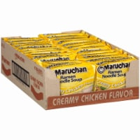 Maruchan Cream Chicken Ramen Noodle Soup