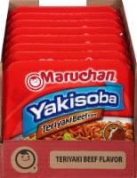 Maruchan Yakisoba Teriyaki Beef Flavor Noodles - 8 ct / 4 oz