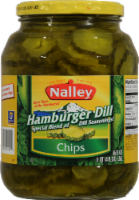 Nalley Hamburger Dill Chips - 46 fl oz