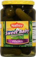 Nalley Sweet Baby Whole Pickles - 24 oz