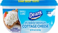 Dean's 4% Milkfat Small Curd Cottage Cheese
