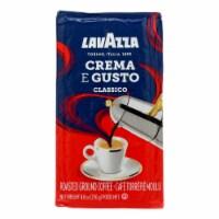 LavAzza Coffee - Crema E Gusto - Dark Roast - Ground - 8.8 oz