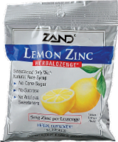 Zand Lemon Herbalozenge - 15 ct