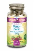 Nature's Herbs Veno-care Horse Chestnut Extract Capsules 257 mg