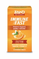 Zand Naturals Zesty Orange Immune Fast Immune Support Chewable Tablets 30 Count