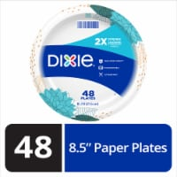 Dixie Everyday 8.5-Inch Disposable Printed Paper Plates