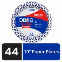 Dixie Ultra Disposable 10.6-Inch Printed Paper Plates