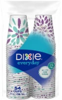 Dixie Everday Printed Paper Cups 54 Count