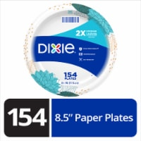 Dixie 8.5-Inch Everyday Disposable Printed Paper Plates