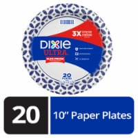 Dixie Ultra Printed Disposable Paper Plates