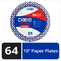 Dixie Ultra Built Strong 10 Inch Paper Plates