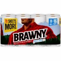Brawny® Pick-A-Size XL Roll Paper Towels - 8 rolls