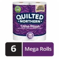 Quilted Northern Ultra Plush 3 Ply White Bathroom Tissue