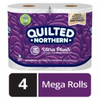 Quilted Northern Ultra Plush Bath Tissue 4 Rolls
