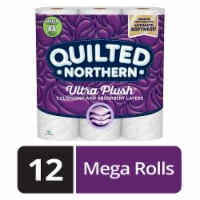 Quilted Northern Ultra Plush Mega Toilet Paper 12 Rolls